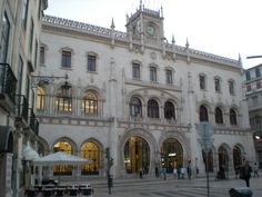 Moorish Architecture - Train Station Lisbon, Portugal 2011