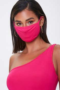 Face Mask Set, Fashion Face Mask, Fitness Models, Forever 21, One Shoulder, Neckline, Rompers, Medical, Community