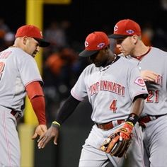Tonight, Cincinnati Reds will try for their first home playoff win since 1995.  Go @Cincinnati Reds!!!