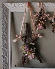 Natural Christmas decor Grapevine star wall by PaperAndMache
