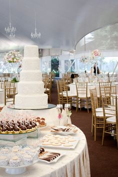 Wedding Candy Stations - María Andrée Couture Cakes