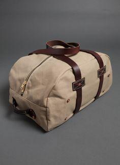 canvas duffel / billy reid