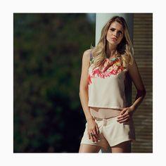 Um look 'comfy' para aproveitar cada minuto do domingo😉#reginasalomao #SummerVibesRS #SS17
