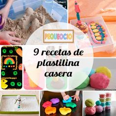 Recetas de plastilina casera Magic For Kids, Diy For Kids, Crafts For Kids, Baby Crafts, Diy And Crafts, Baby Sensory Play, Pasta Flexible, Play Food, Cool Baby Stuff