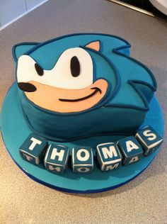 Sonic The Hedgehog Birthday Invitations Parties Ajilbabcom Portal Sonic Birthday Cake, Sonic Cake, Sonic Birthday Parties, Sonic Party, Pokemon Birthday, Birthday Party Games, Birthday Favors, 10th Birthday, Pokemon Party