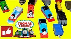 Томас и его друзья, коллекция игрушечных паровозиков. Thomas&Friends col...
