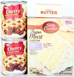 Looking for a yummy Dessert recipe? This Easy Cherry Dump Cake Recipe is sure to satisfy any taste buds, perfect for a party or an after-dinner dessert! Lemon Dump Cake Recipe, Spice Dump Cake Recipe, Spice Cake Mix, Dump Cake Recipes, Cobbler Recipe, Crisp Recipe, Crockpot Dessert Recipes, Crock Pot Desserts, Baking Recipes