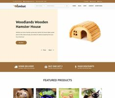 Numbat - ModelTheme Discount Pet Supplies, Online Pet Supplies, Amazing Websites, Hamster House, Online Pet Store, House Made, Next At Home, Shopping Websites, Make More Money
