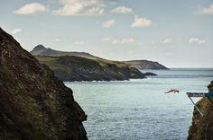 Red Bull Cliff Diving World Series: Gary Hunt feiert Heimsieg in Wales