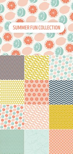 Summer Fun Patterns Collection FREE DOWNLOAD