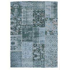 Nostalgischer Teppich im Patchwork-Design, der mit filigranen Mustern in Türkis punktet: http://www.xxxlshop.de/teppiche-boeden/teppiche/web-und-tuftteppiche/c11c1c4/esposa/flachwebeteppich-in-tuerkis-40-60-cm-.produkt-007946020751