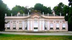 Marie Antoinette stayed at the Amalienburg Pavilion on the grounds of the Nymphenburg Palace, Munich on 26 April 1770 as a guest of the Elector of Bavaria while traveling to Paris to marry the future Louis XVI.