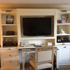Desk area in Ocean Ridge, Cape Cod. MA