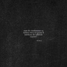 "530 aprecieri, 0 comentarii - Vise de cerneala (@visedecerneala) pe Instagram: ""#romania #bucuresti #bucharest #sibiu #cluj #ramnicuvalcea #brasov #timisoara #iasi #oradea #arad…"" Vise, Motto, Poems, Quotes, Instagram, Texts, Quotations, Poetry, Verses"