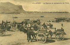 Palermo, La Stazione di caricamento nel Porto