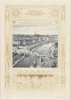 Otto Wagner, Kaianlagen, Aspern-und Ferdinandsbrücke, Aspernplatz, Stubernviertel ©Wien Museum