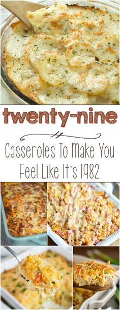 Community Post: 29 Casseroles To Make You Feel Like It's 1982 (Southern Fall Recipes) Healthy Potato Recipes, Mexican Food Recipes, Cauliflower Recipes, Casseroles Healthy, Fall Casseroles, Broccoli Recipes, Potatoe Casserole Recipes, Casserole Dishes, Cheap Casserole Recipes