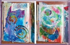 art journal abstracte kunst