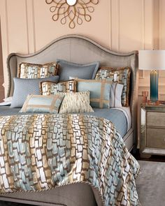 Cozumel Bedding by Dian Austin Couture Home at Horchow.