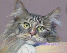 pet portraits pastel - Buscar con Google
