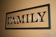 cricut projects on glass   Crafty Chic Mommy: GLASS VINYL SIGN KNOCKOFF