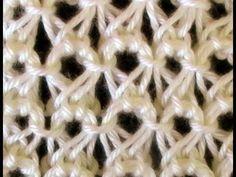 Receita de Tricô: Ponto peruano em tricô