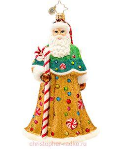 Елочная игрушка Санта арт. 1017239
