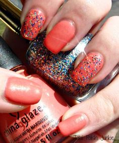 Total Polish Junkie: China Glaze Mimosas Before Manis