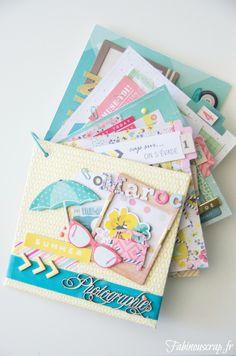 Arts And Crafts Style House Hobbies For Girls, Hobbies And Crafts, Mini Albums Scrapbook, Scrapbook Cards, Album Photo Original, Diy Mini Album, Minis, Mini Books, Scrapbooking Layouts