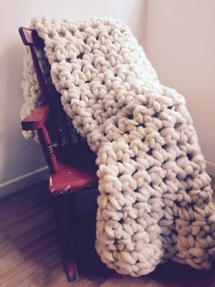 Manta de lana 100% XXL