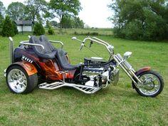 images of trikes | SMT Power Trike V8 Flame! für 34.500Euro