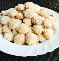 Boules de noix de cocl