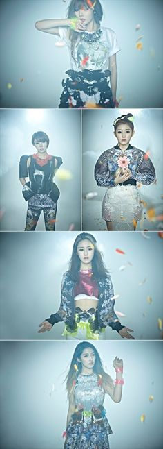4Minute releases new set of teaser photos ~ Latest K-pop News - K-pop News | Daily K Pop News