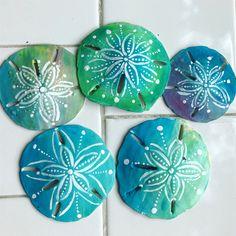Seashell Painting, Seashell Art, Seashell Crafts, Starfish, Ocean Crafts, Beach Crafts, Shells And Sand, Sea Shells, Rock Crafts