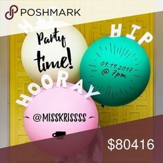 Come party with me! 🎈 So excited to be co-hosting my FIRST posh party! Ready to start lookin' for my posh picks 😏 Theme TBA! But please help me share and tag your PFFs! 🎉🎊 Forever 21 Other