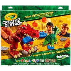 Create2Destroy - Dino Destruction - Metropolitan Mayhem