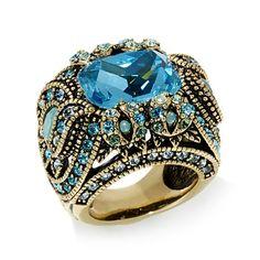 "Heidi Daus ""Irresistible Impressions"" Crystal Ring"