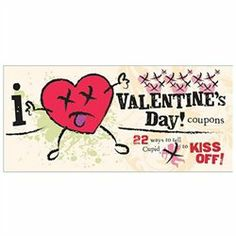 #SCBCB                    #Valentine Gifts Idea     #(Don't) #Heart #Valentine's #Day! #Coupons         I (Don't) Heart Valentine's Day! Coupons            Love and Art is the original Russian version of Fables of Love and Art        http://www.seapai.com/product.aspx?PID=10047594