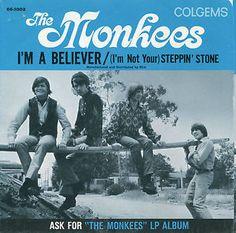 I'm A Believer free piano sheet music Free Sheet Music, Piano Sheet Music, Kids Choice Award, Happy Pop, Michael Nesmith, I'm A Believer, Free Piano, Slow Dance, Davy Jones