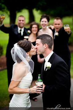 wedding pic idea without the drink