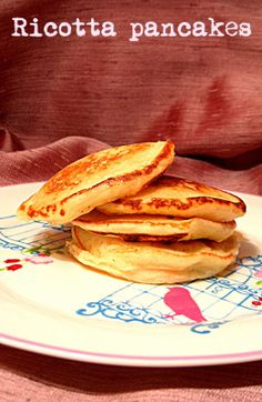 Chez Maximka: Ricotta pancakes #pancakes #dessert