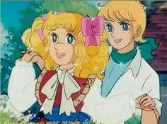 candy candy y anthony Old Anime, Manga Anime, Candy Anthony, Candy Y Terry, Dulce Candy, Candy Dress, Vintage Candy, Holly Hobbie, Cartoon Shows