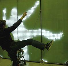 Media-fasade/Digital/Kinetic on Pinterest   Facades, LED and Anton