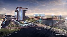 Gallery of Populous Unveils Plan to Redevelop Jacksonville's Shipyards District - 9