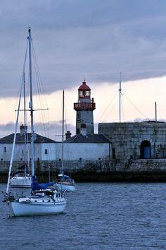 Lighthouse. Dun Laoghaire, Dublin.