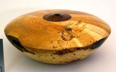 Woodturned piece by Saskatchewan artist Rodney Peterson.