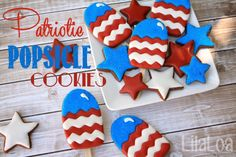 LilaLoa: A Perfect Platter of Patriotic Popsicles and...umm...