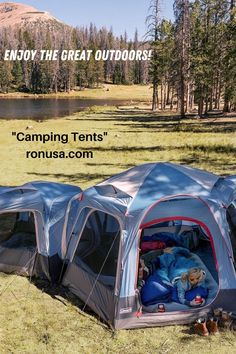 Camping Tents in all types & sizes. #tents #campingtents #tent