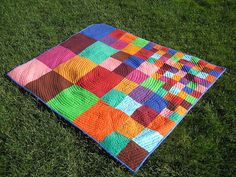 Scattering Squares by Pippa Patchwork, via Flickr