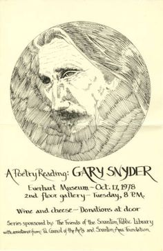 Poetry on a Monday: Gary Snyder » Abandon All Despair Ye Who Enter Here